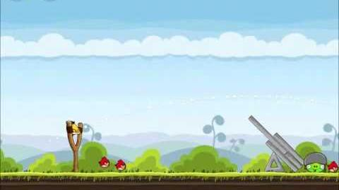 Official Angry Birds Walkthrough Mighty Hoax 4-9