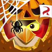 Angry Birds Epic Square Icon (Halloween)