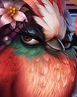Flocker Red Portrait 040