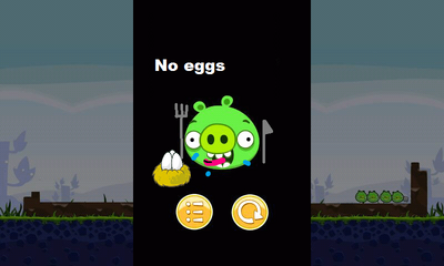 No eggs