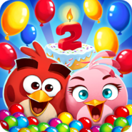 Angry Birds POP Birthday Icon