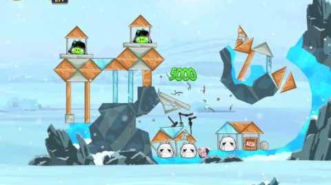 Hoth 3-4 (Angry Birds Star Wars)/Video Walkthrough