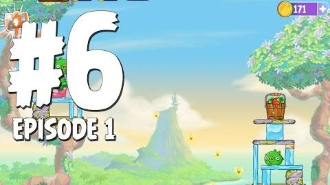Angry Birds Stella Level 6 Walkthrough Branch Out Episode 1