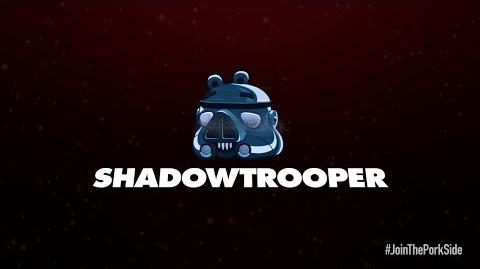 NEW! Angry Birds Star Wars 2 character reveals Shadowtrooper