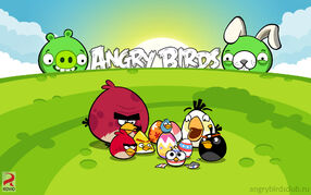 Wallpaper angrybirdsclub ru easter