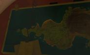Карта Золотого острова у Далии