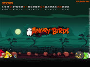 AngryBirds October2012 CalendarWallpaper