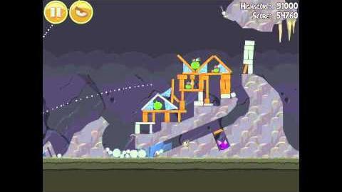 Angry Birds 17-11 Mine & Dine 3 Star Walkthrough