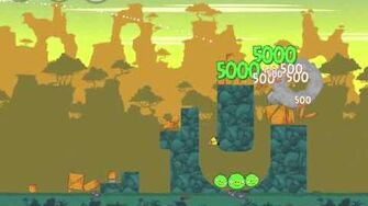 Angry Birds 23-11 Bad Piggies 3 Star Walkthrough (Angry Birds Classic 23-11)