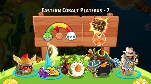 Angry Birds Epic Eastern Cobalt Plateaus Level 7 Walkthrough