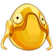 Angry Birds Star Wars Golden Explorer Droid