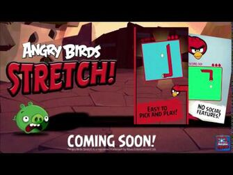 Angry Birds Stretch! - Teaser Trailer