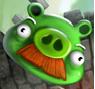 Mustache Pig 3D