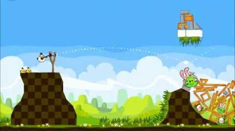 Official Angry Birds Seasons Walkthrough Easter Eggs 1-15