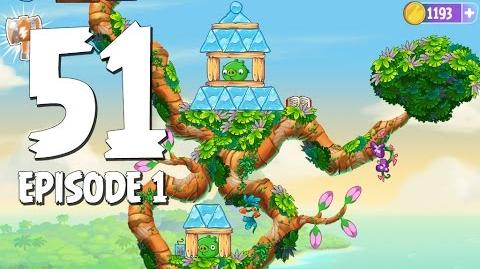 Angry Birds Stella Level 51 Walkthrough Branch Out Episode 1