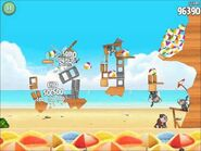 Official Angry Birds Rio Walkthrough Beach Volley 6-15