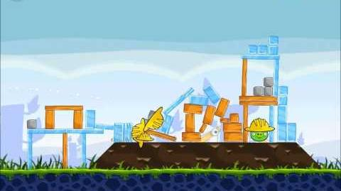 Official Angry Birds Walkthrough The Big Setup 9-7