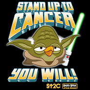 Stand up cancer you will