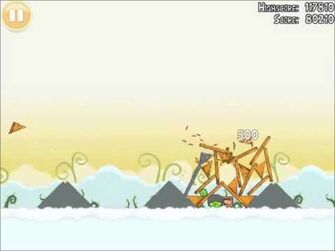 Official Angry Birds Walkthrough Danger Above 8-10