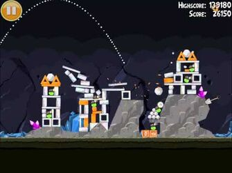 Official Angry Birds Walkthrough Mine and Dine 16-2