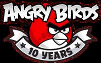 앵그리버드 10주년 기념 로고