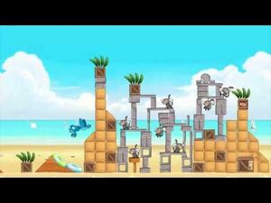 Angry Birds Rio Beach Volley Episode Gameplay Trailer