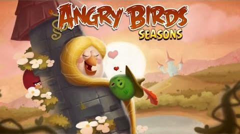 Angry Birds Seasons Valentine's Update - Fairy Hogmother!