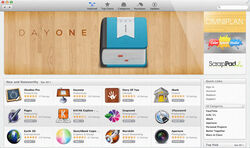 Mac App Store on OS X Moutain Lion