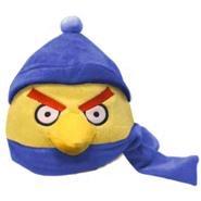 Игрушка зимней жёлтой птицы