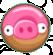 Свинья-пончик