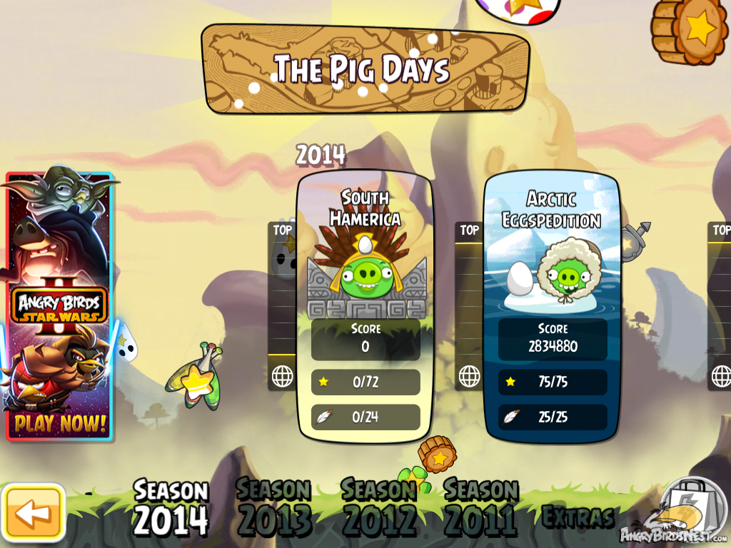 Angry Birds Hammier Things south hamerica | angry birds wiki | fandom