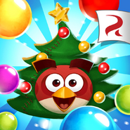 Angry Birds POP Square Icon (Christmas)