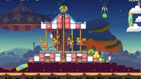 Angry Birds Seasons Abra-ca-Bacon 2-14 Walkthrough 3-Star