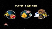 Menu Player Selection
