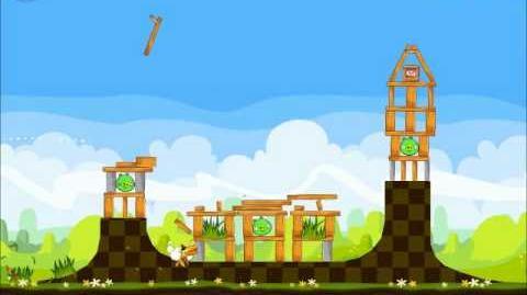 Official Angry Birds Seasons Walkthrough Easter Eggs 1-10
