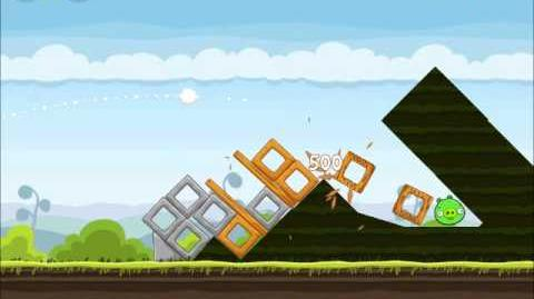 Official Angry Birds Walkthrough Mighty Hoax 4-16