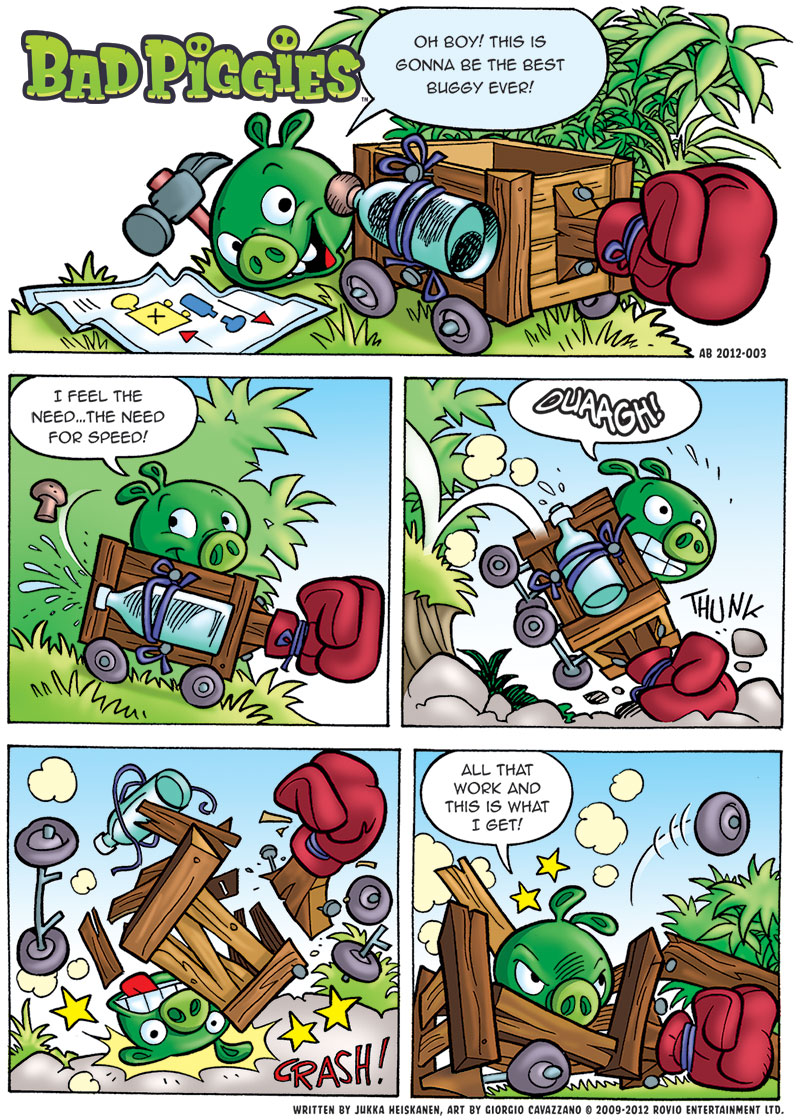 Bad Piggies Comic Angry Birds Wiki Fandom Powered By Wikia