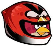 Big heikki red bird