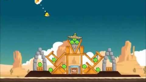 Official Angry Birds Walkthrough Ham 'Em High 12-4