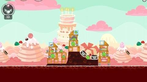 Angry Birds Birdday Party Cake 4 Level 5 Walkthrough 3 Star