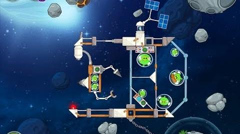 Angry Birds Space Beak Impact 8-17 Walkthrough 3 Star