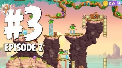 Angry Birds Stella Level 3 Episode 2 Beach Day Walkthrough