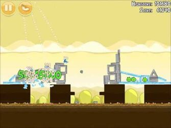 Official Angry Birds Walkthrough Mighty Hoax 5-20