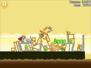 Official Angry Birds Walkthrough The Big Setup 11-3