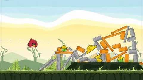 Official Angry Birds Walkthrough The Big Setup 9-10
