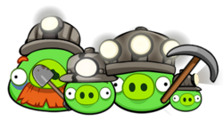 Свиньи из Майнкрафта
