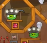Cerdos Mineros Angry Birds Friends