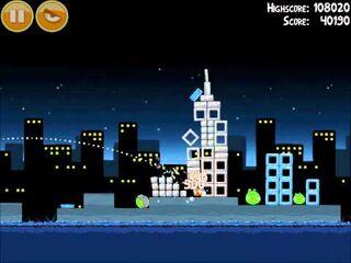 Official Angry Birds Walkthrough Danger Above 7-1