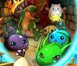 Враги Puzzle and Dragons