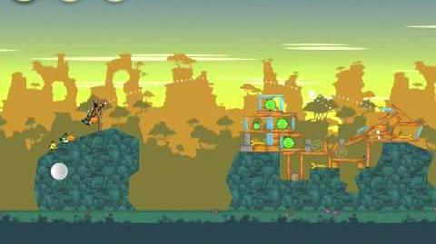 Angry Birds 22-12 Bad Piggies 3 Star Walkthrough (Angry Birds Classic 22-12)